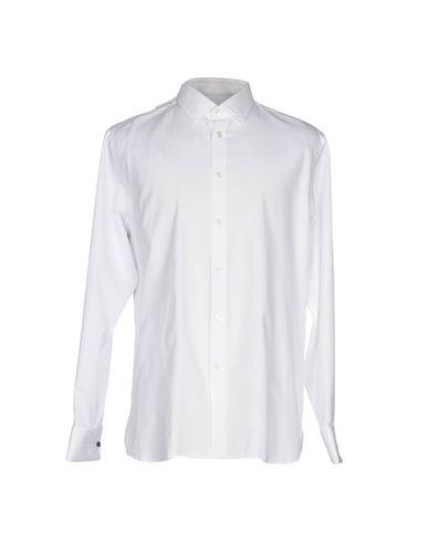 AQUASCUTUM メンズ シャツ ホワイト 43 コットン 100%