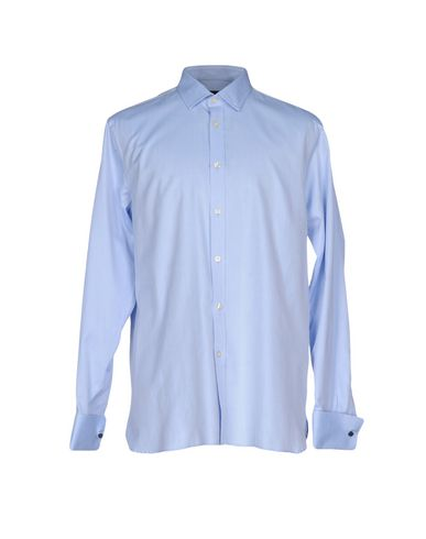 AQUASCUTUM メンズ シャツ ブルー 43 コットン 100%