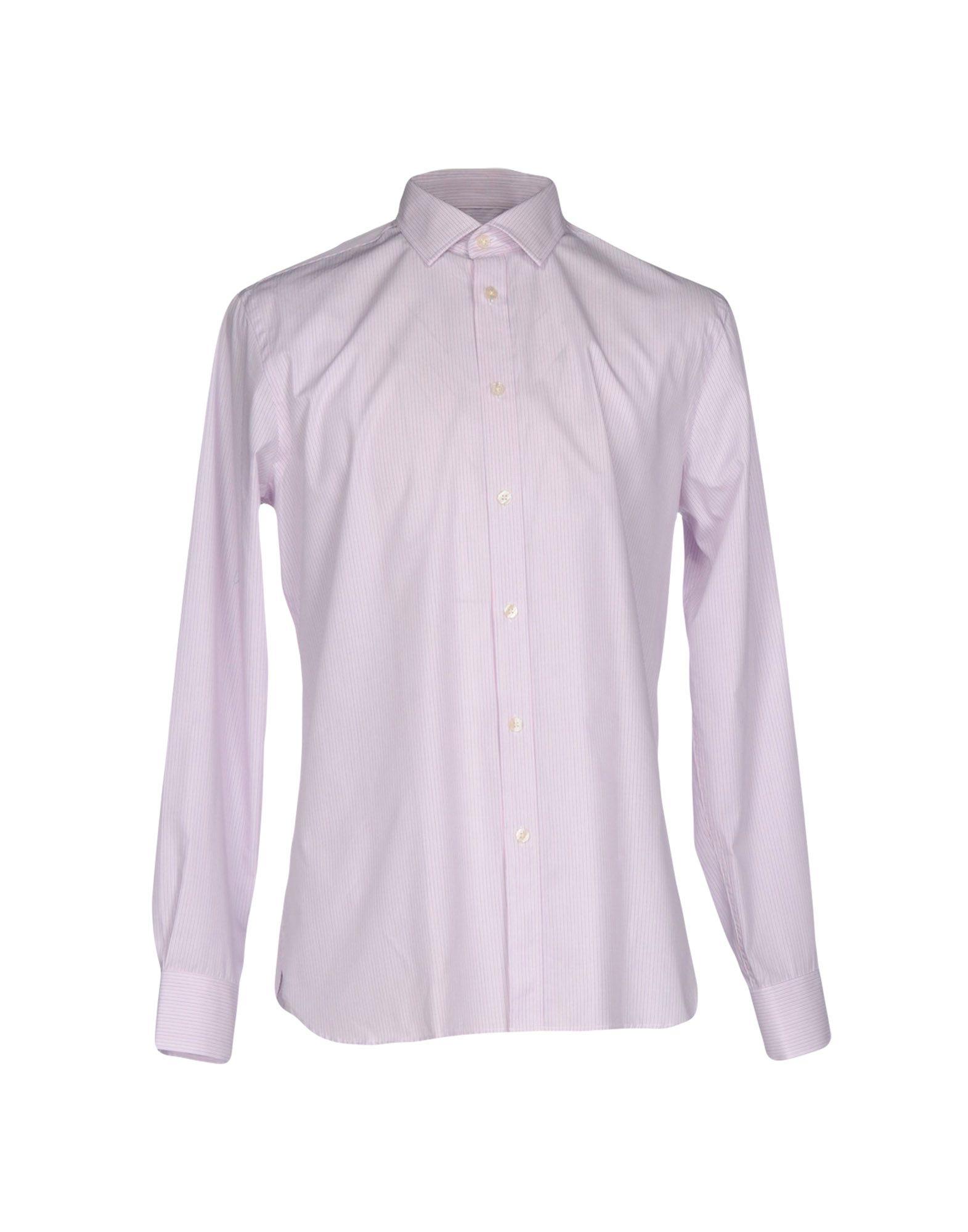 《2万円以上オーダーで送料無料》AQUASCUTUM メンズ シャツ ピンク 39 コットン 100%