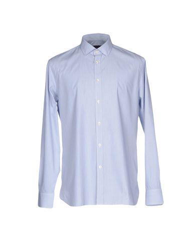 AQUASCUTUM メンズ シャツ ブルー 39 コットン 100%