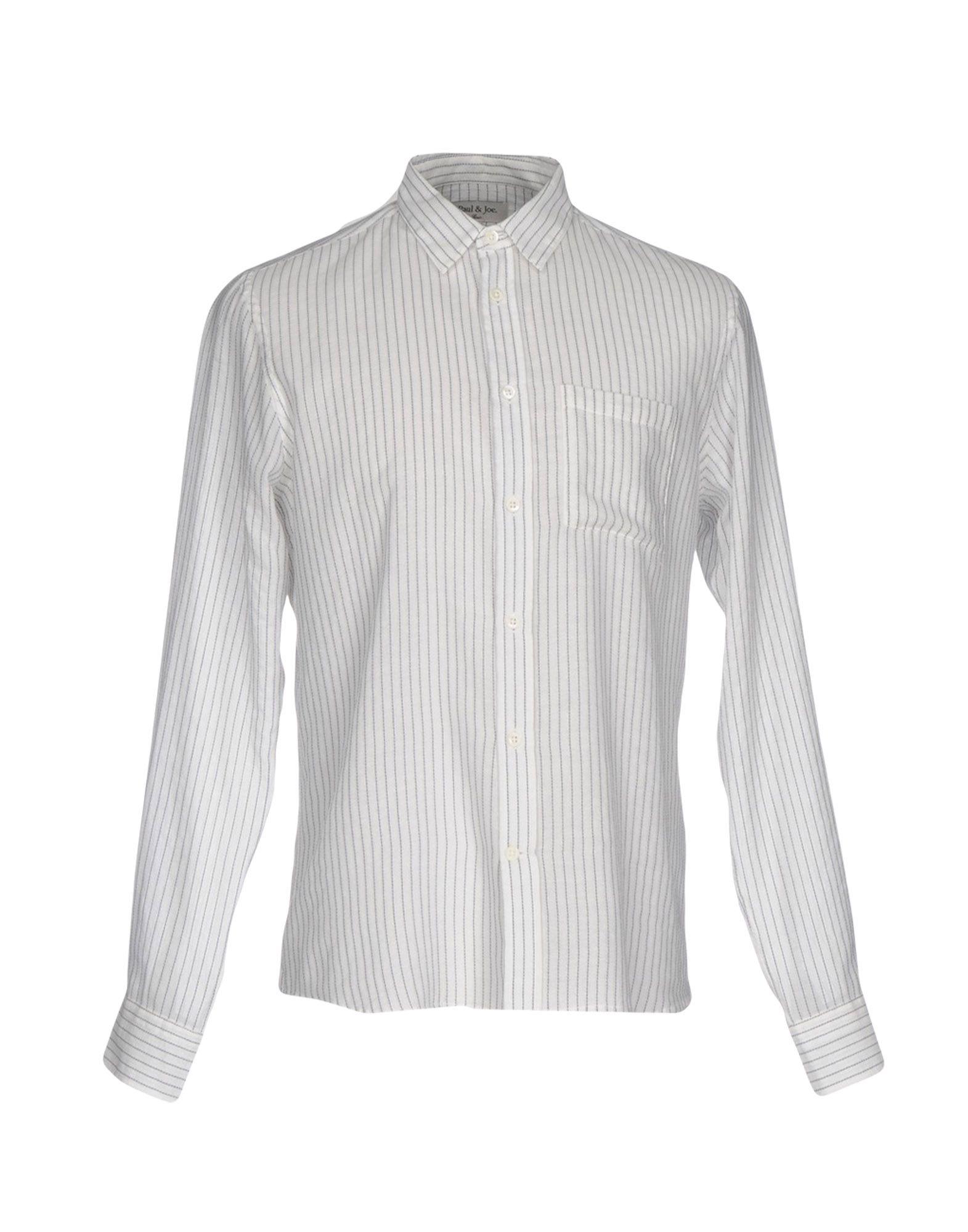 メンズ ポール & ジョー シャツ ホワイト