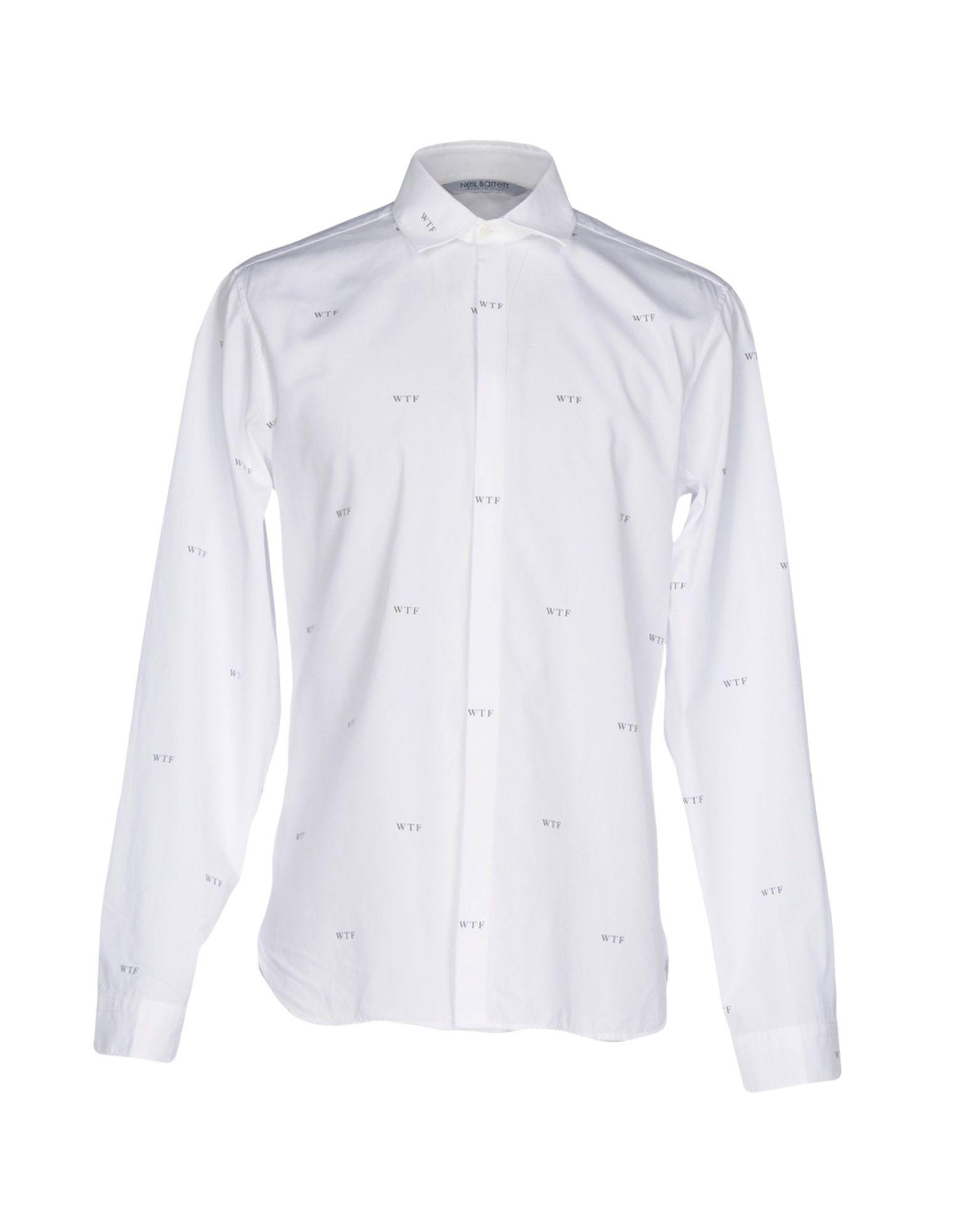 где купить NEIL BARRETT Pубашка по лучшей цене