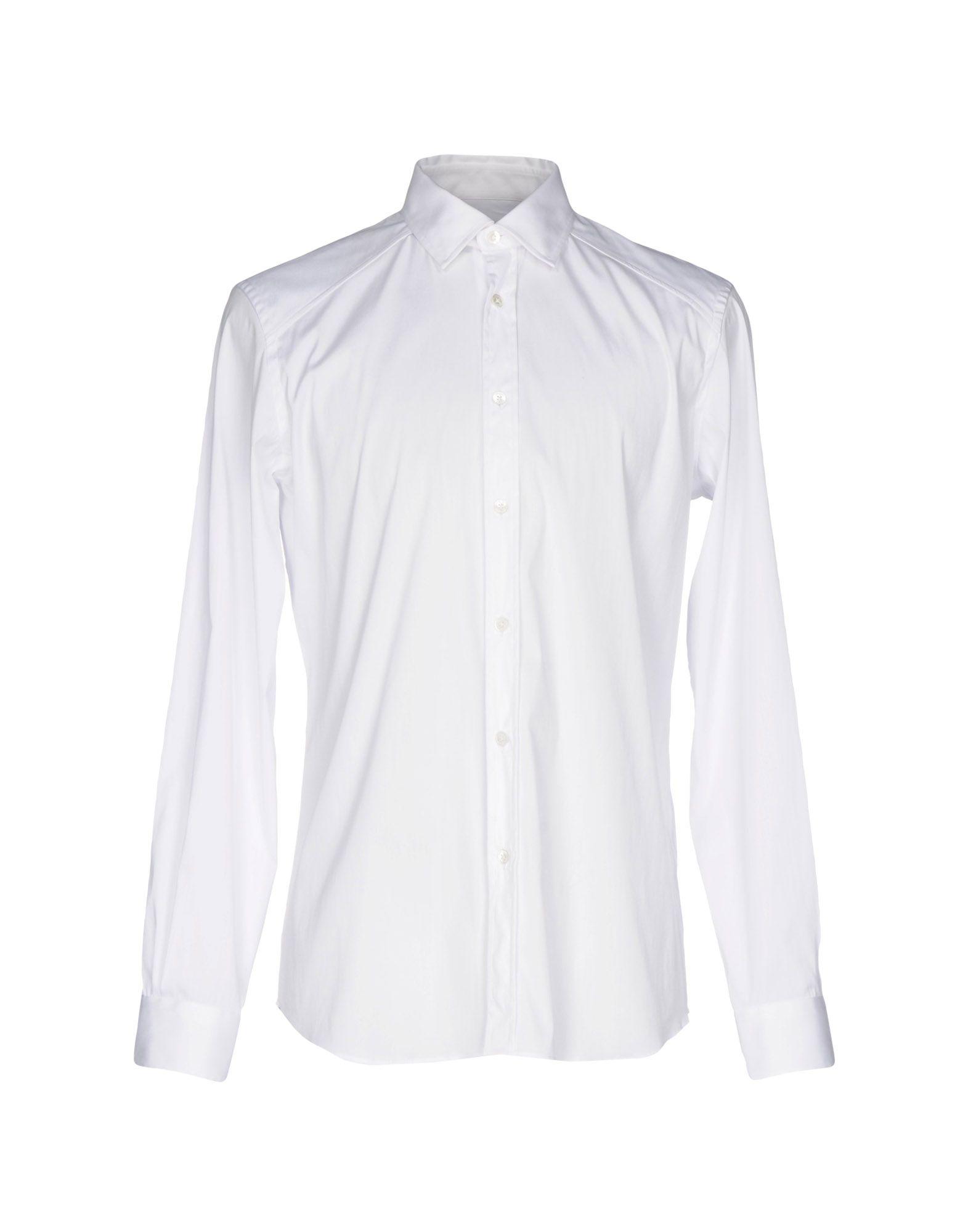 メンズ ベルスタッフ シャツ ホワイト