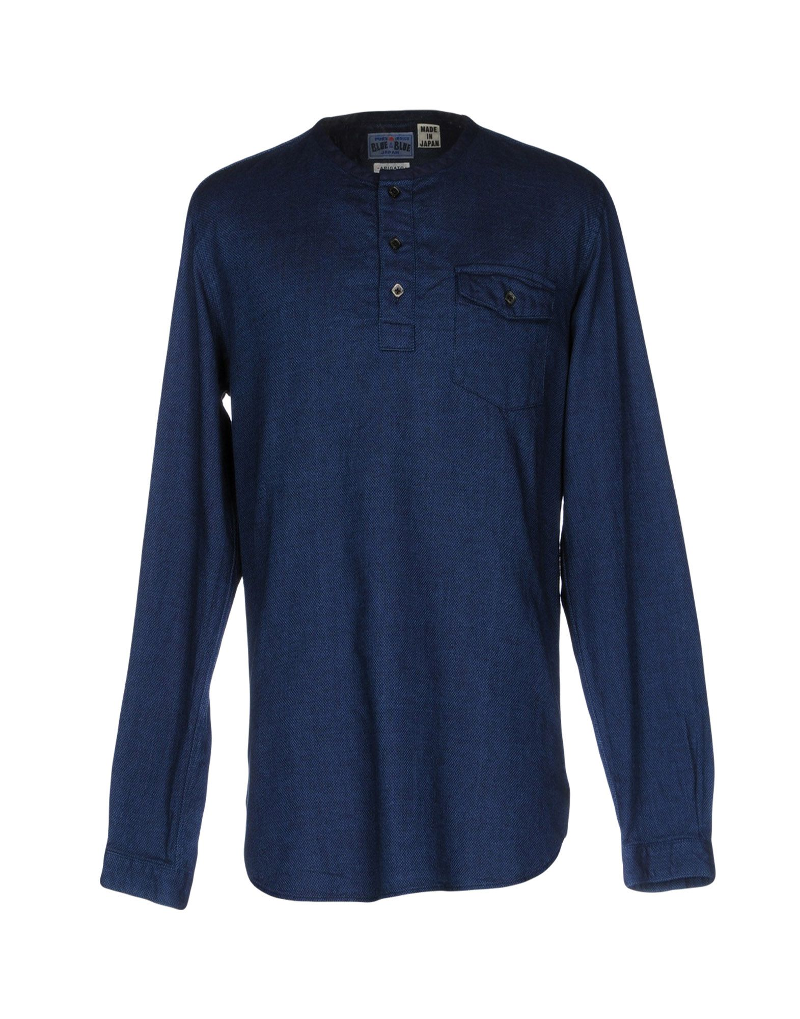BLUE BLUE JAPAN Pубашка blue blue japan pубашка