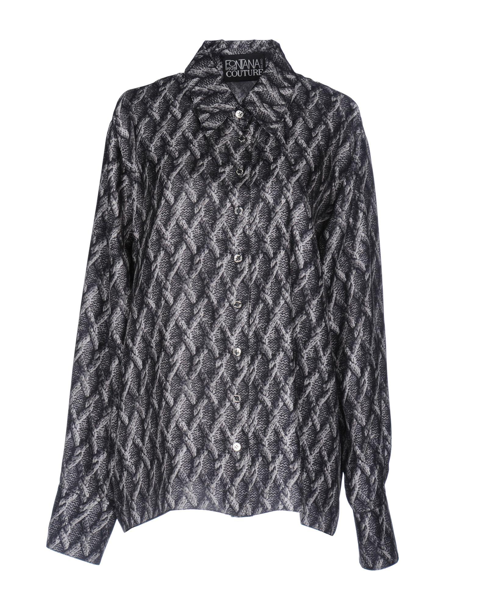 цена FONTANA COUTURE Pубашка онлайн в 2017 году