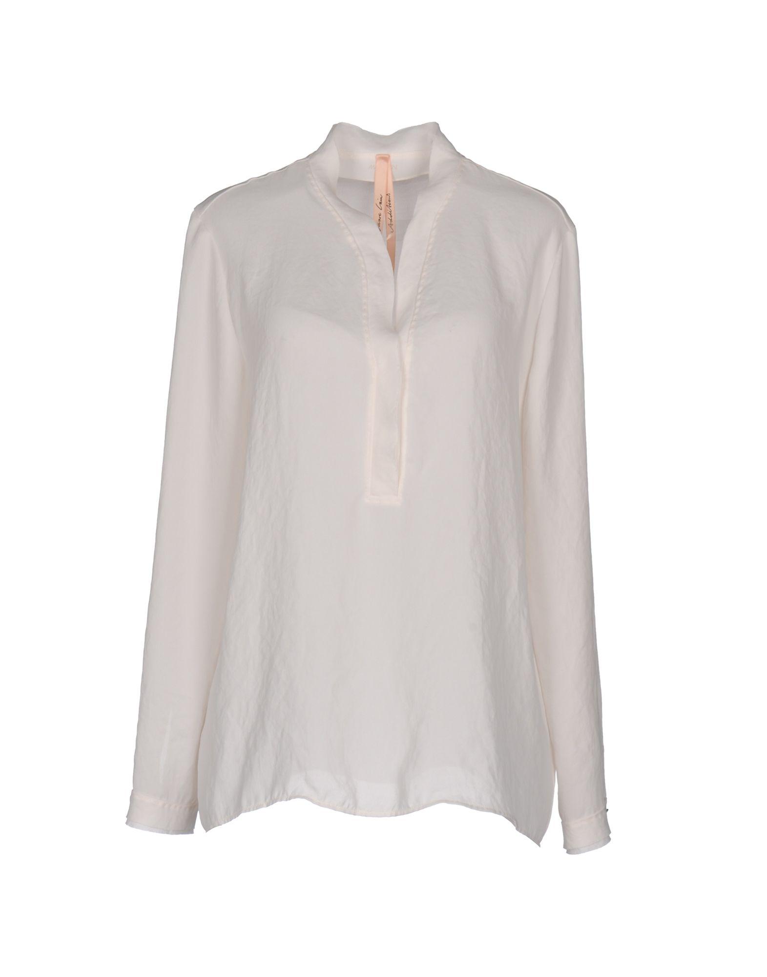MARC CAIN Блузка свободное платье без рукавов marc cain платья и сарафаны с декольте