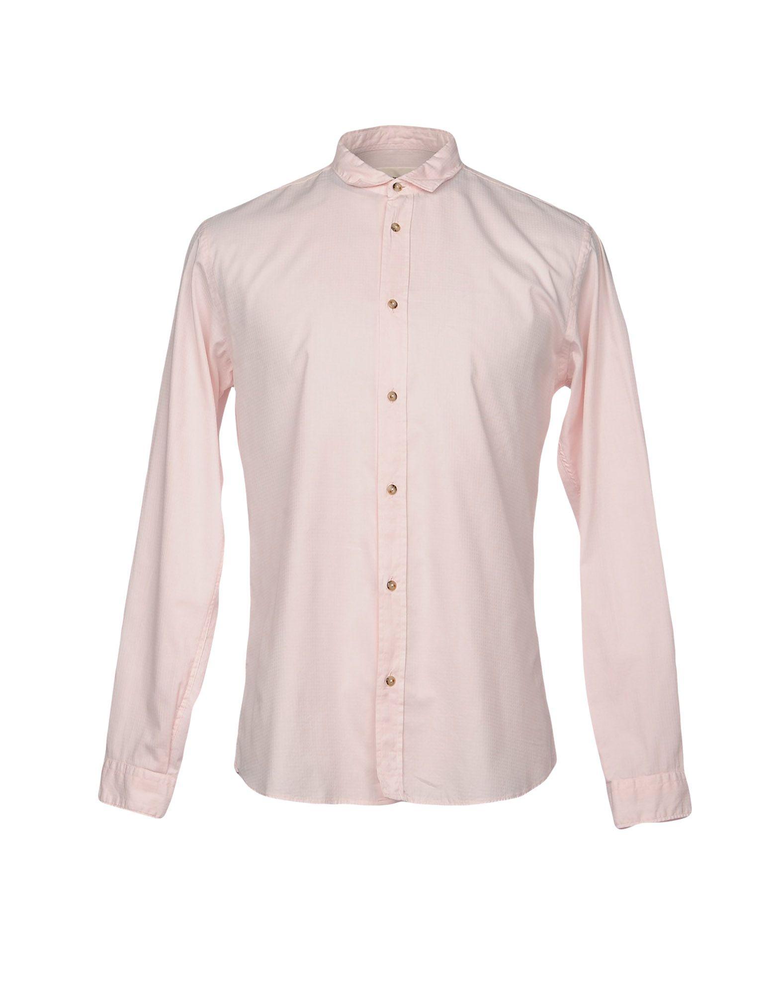 《送料無料》,BEAUCOUP メンズ シャツ ピンク XL コットン 100%