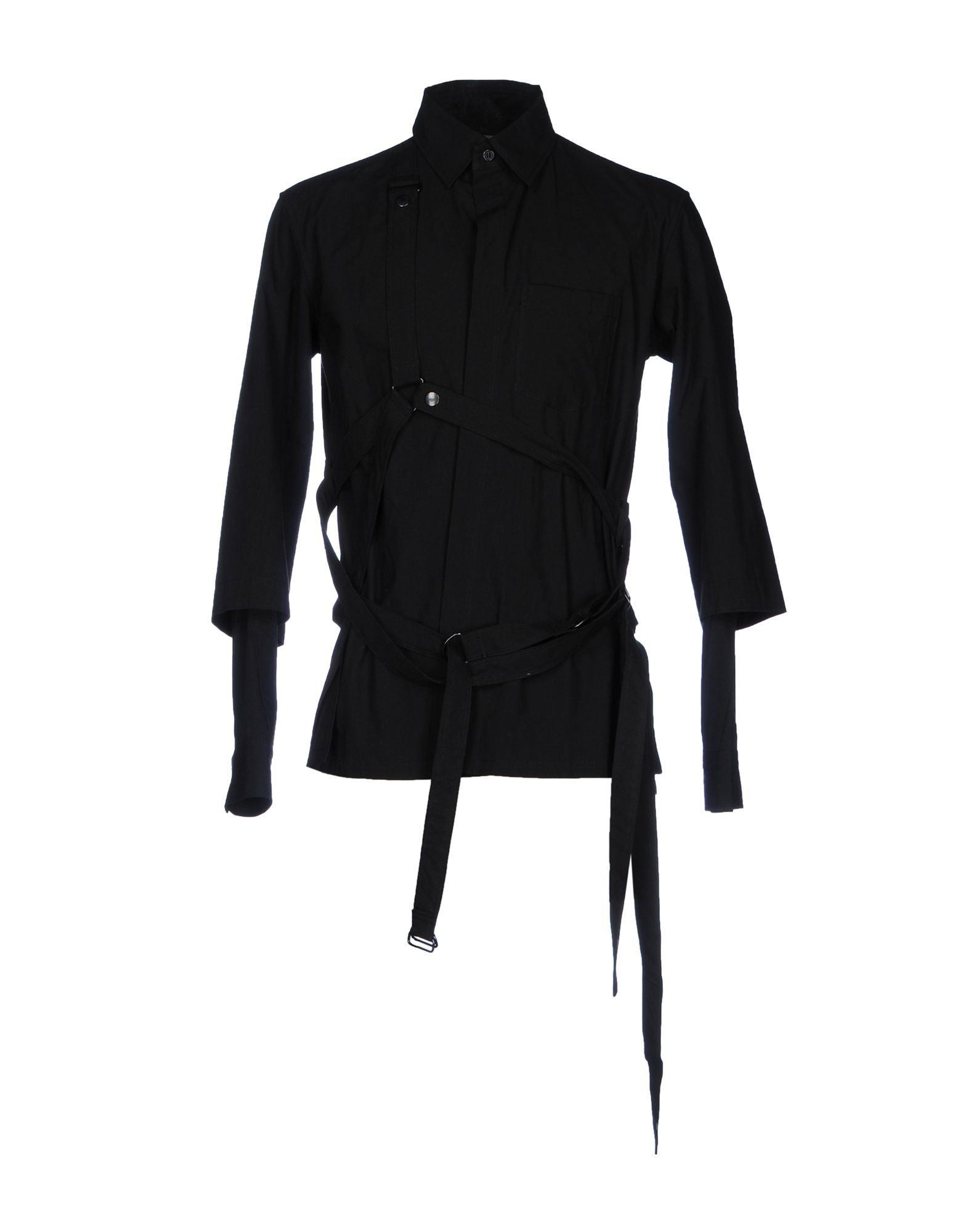 купить YOHJI YAMAMOTO POUR HOMME Pубашка по цене 24000 рублей