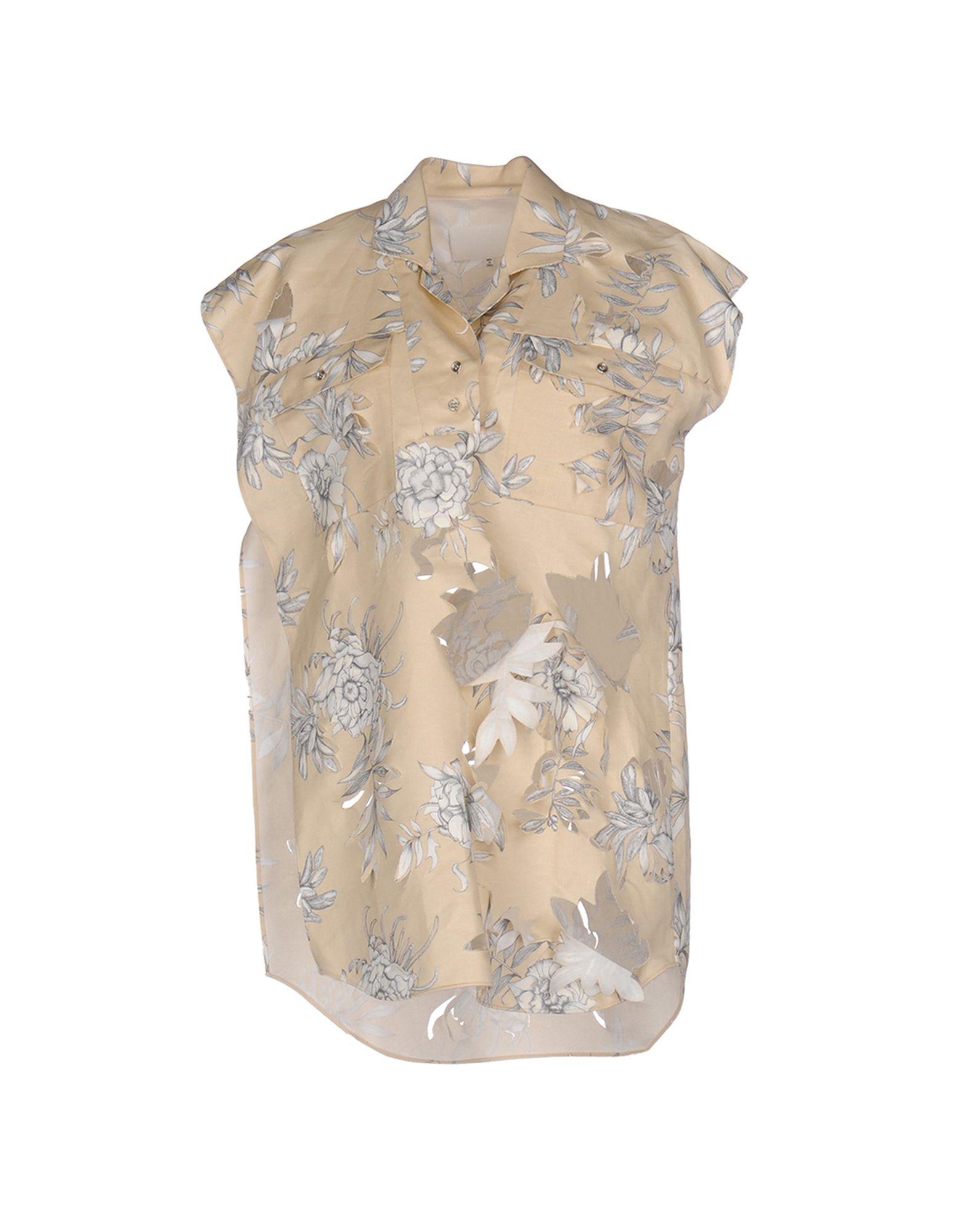 MAISON MARGIELA Блузка ткань