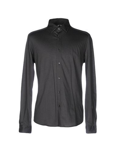 BAGUTTA メンズ シャツ グレー S コットン 100%