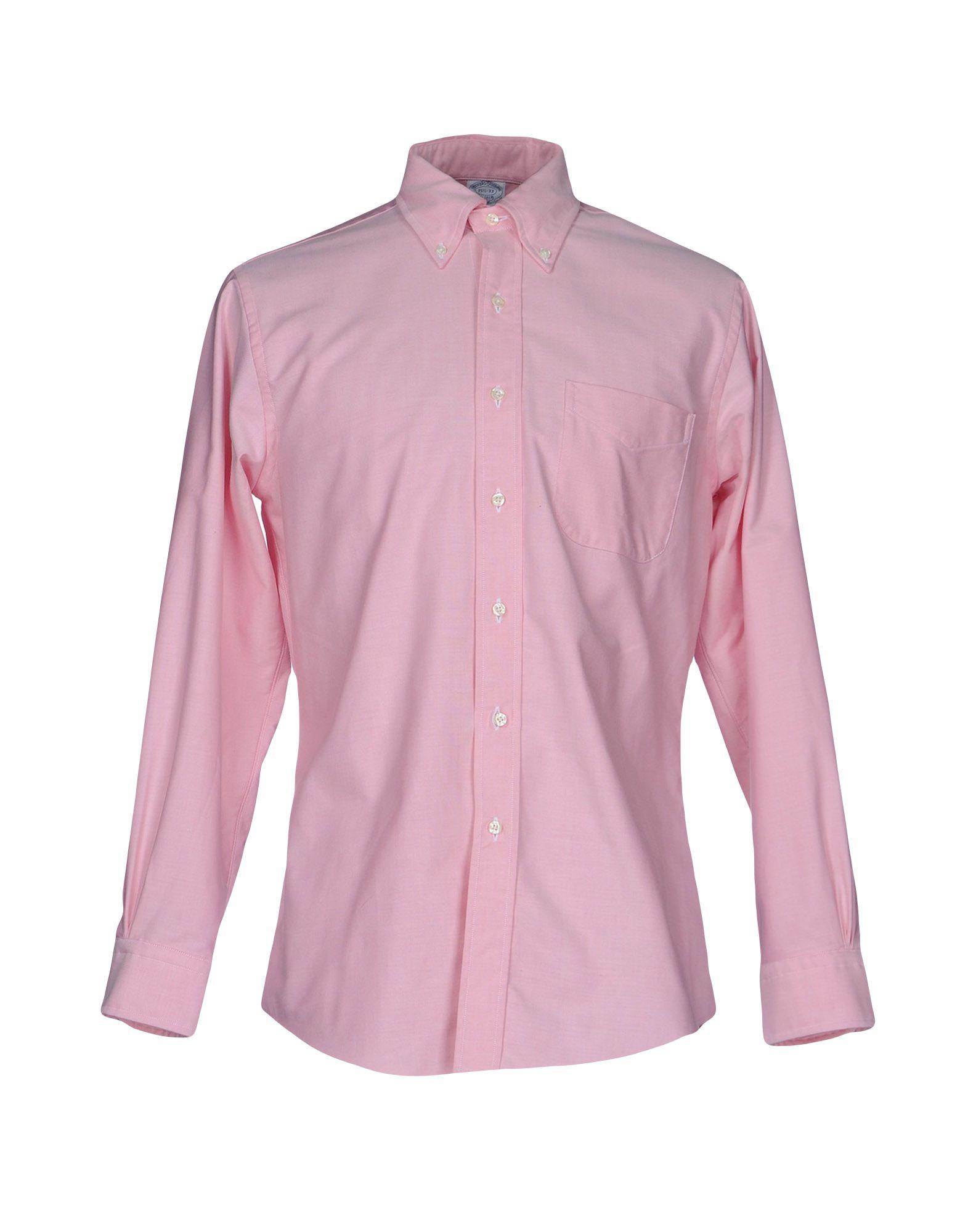メンズ BROOKS BROTHERS シャツ ピンク
