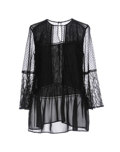 Фото - Женскую блузку PERSEVERANCE черного цвета