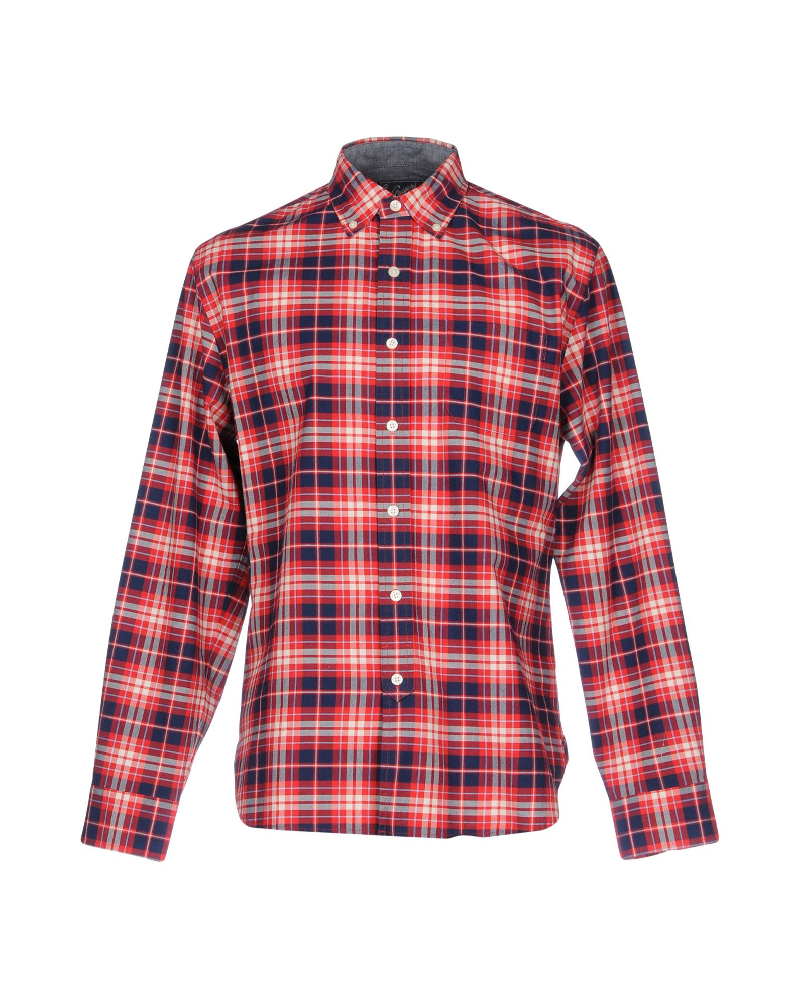 GRAYERS Checked Shirt in Red