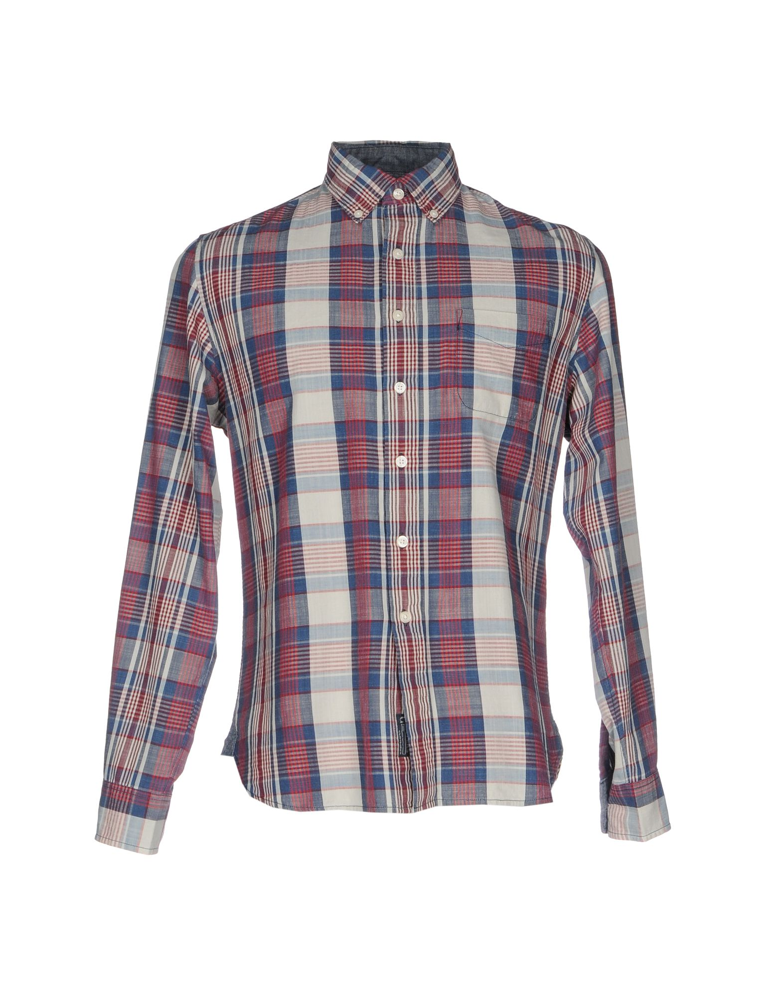 GRAYERS Checked Shirt in Blue