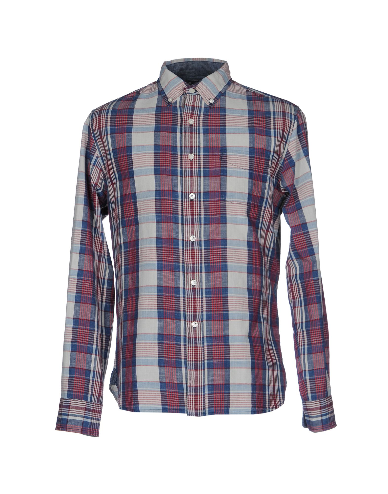 GRAYERS Checked Shirt in Brick Red