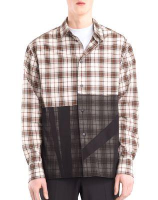LANVIN PATCHWORK SHIRT Shirt U f