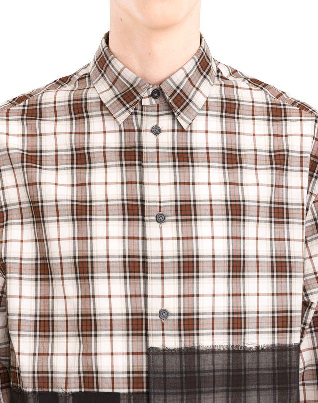 LANVIN PATCHWORK SHIRT Shirt U a