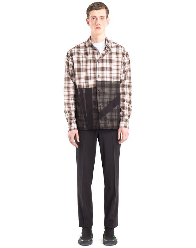 LANVIN PATCHWORK SHIRT Shirt U r