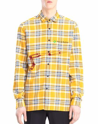 LANVIN Shirt U PATCHWORK SHIRT F