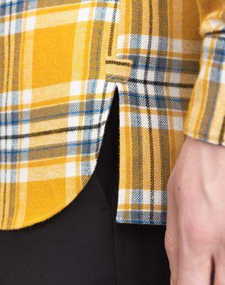 LANVIN PATCHWORK SHIRT Shirt U b