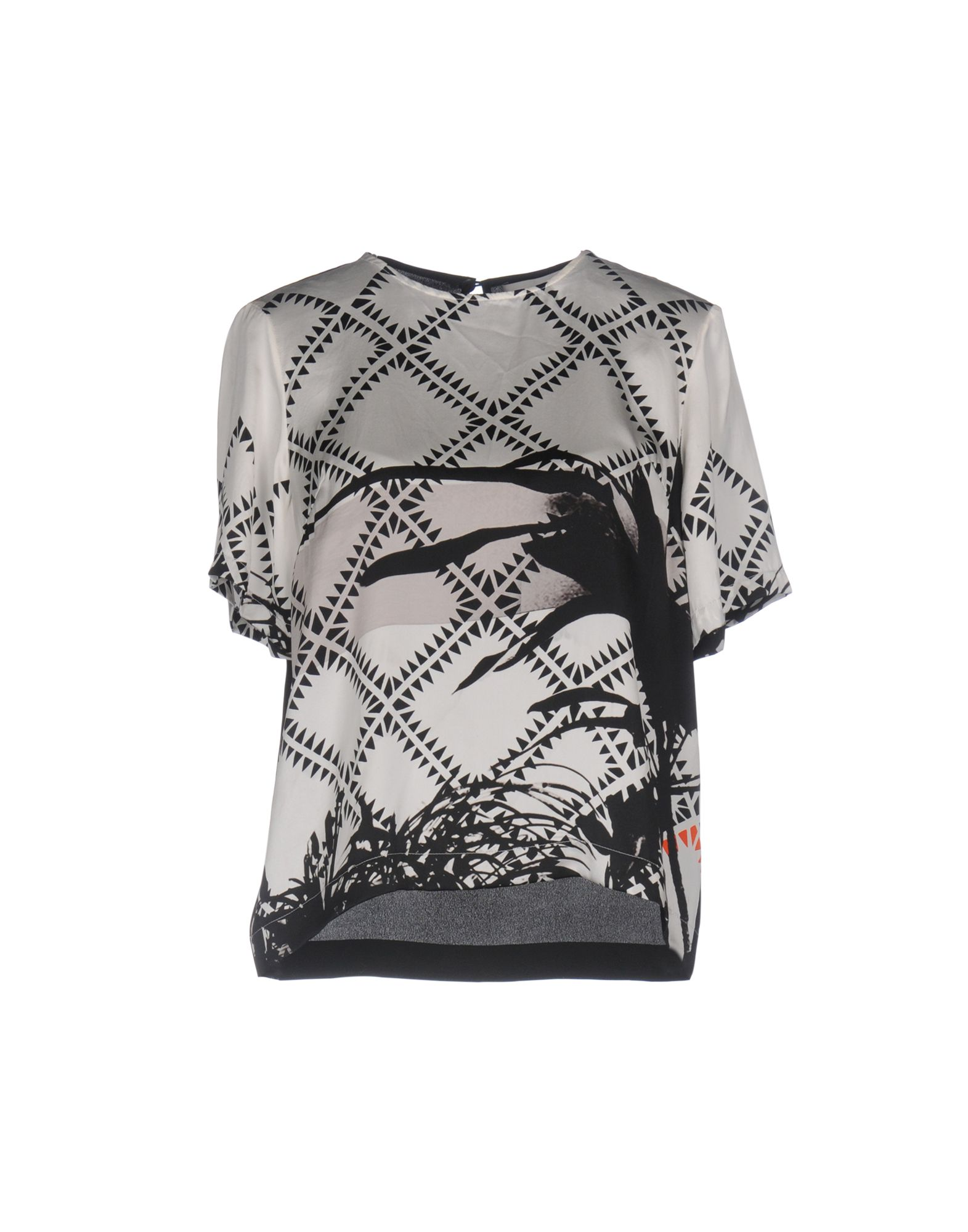 PREEN by THORNTON BREGAZZI Damen Bluse Farbe Weiß Größe 3