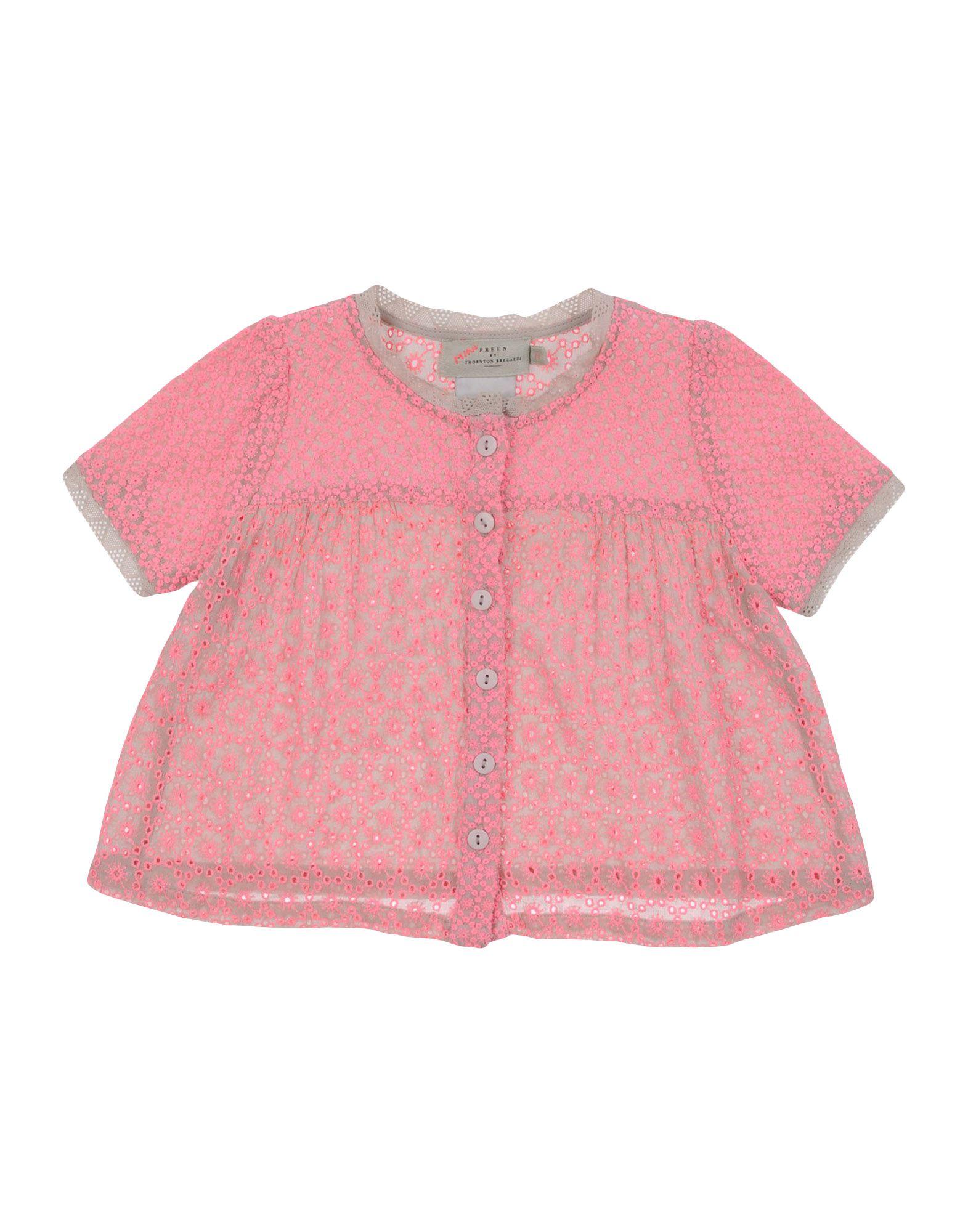 PREEN by THORNTON BREGAZZI Mädchen 0-24 monate Hemd Farbe Rosa Größe 10