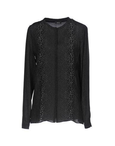 AKRIS レディース シャツ ブラック 36 シルク 100%