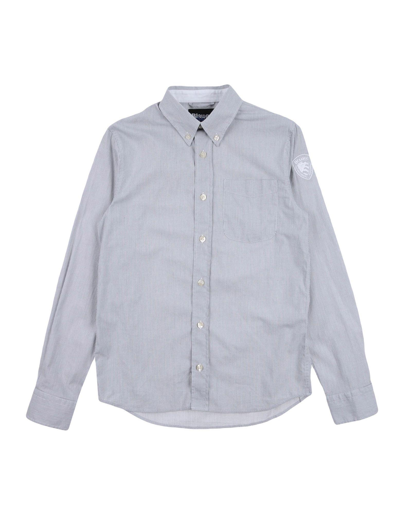 BLAUER シャツ グレー