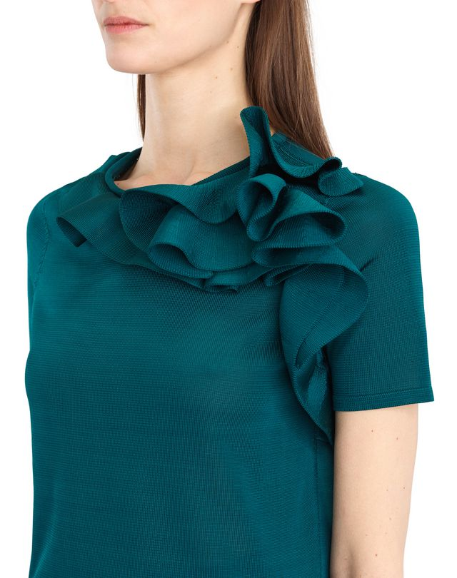 LANVIN KNIT AND FRILL TOP Top D a