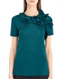 LANVIN Top Woman KNIT AND FRILL TOP f