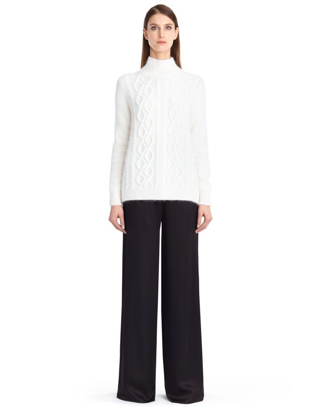 LANVIN CABLE KNIT SWEATER Top D f