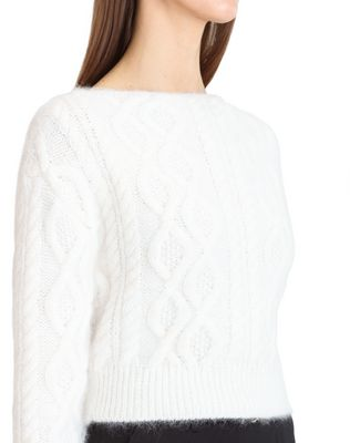 LANVIN CABLE KNIT SWEATER Top D r