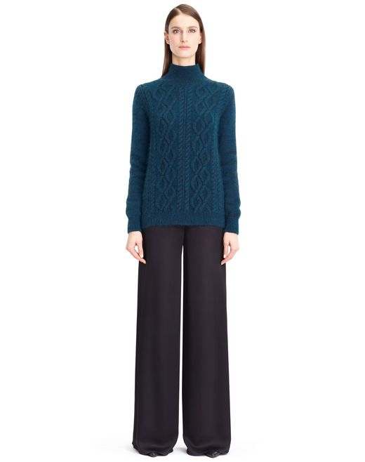 lanvin cable knit sweater women