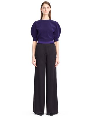 LANVIN Top D SATIN CREPE TOP F