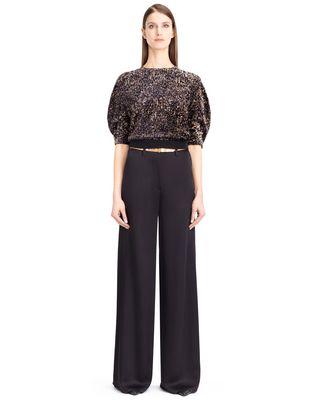 LANVIN Pants D SATIN SABLE PANTS F