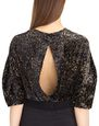 LANVIN Top Woman DEVORE VELVET TOP f
