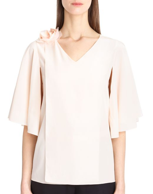 lanvin crepe de chine top women