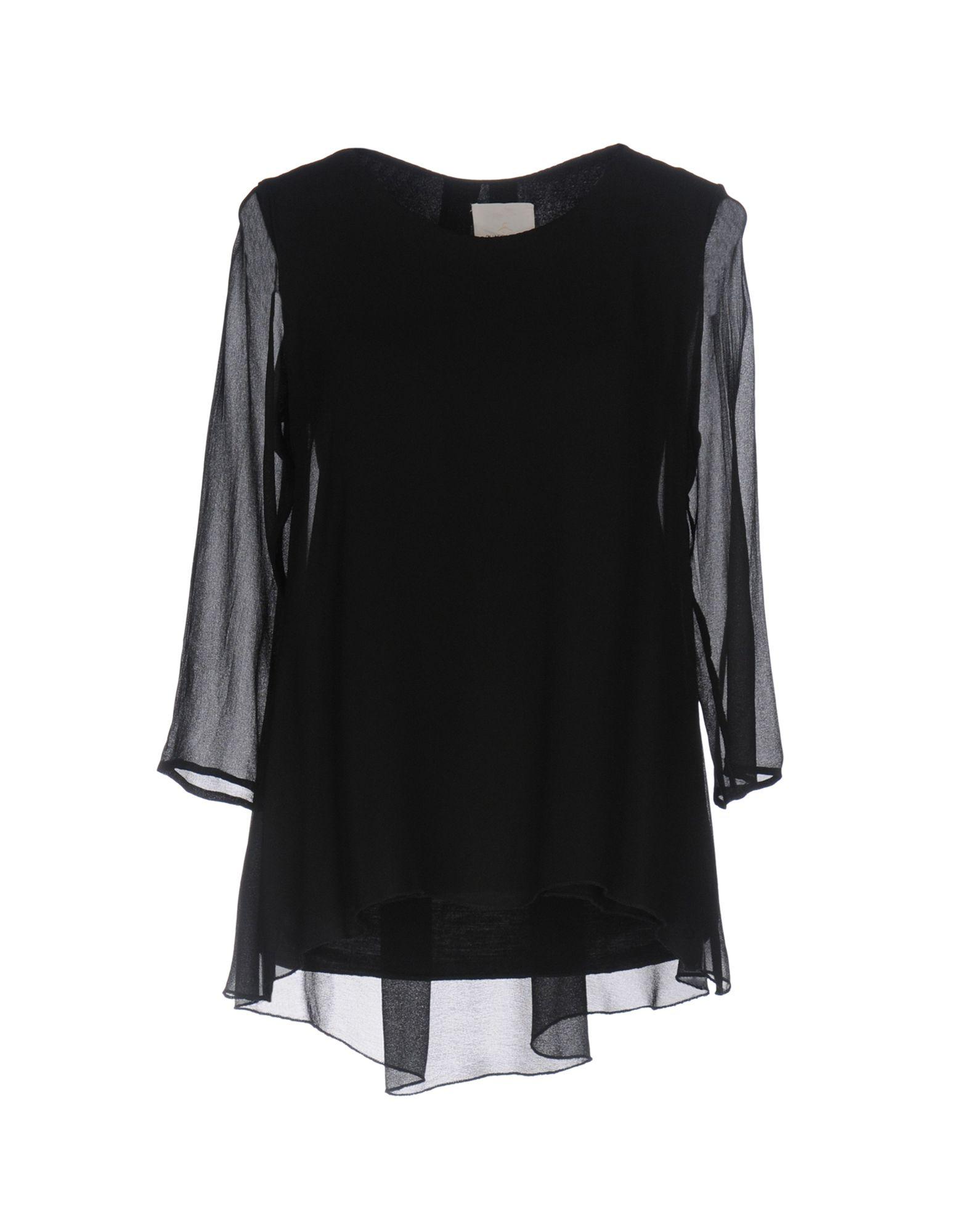GUARDAROBA by ANIYE BY Damen Bluse Farbe Schwarz Größe 4