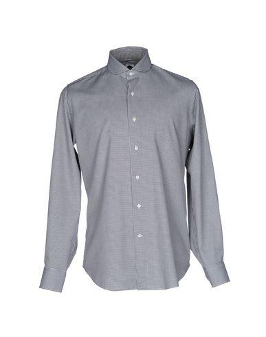 BAGUTTA メンズ シャツ ブラック 43 コットン 100%