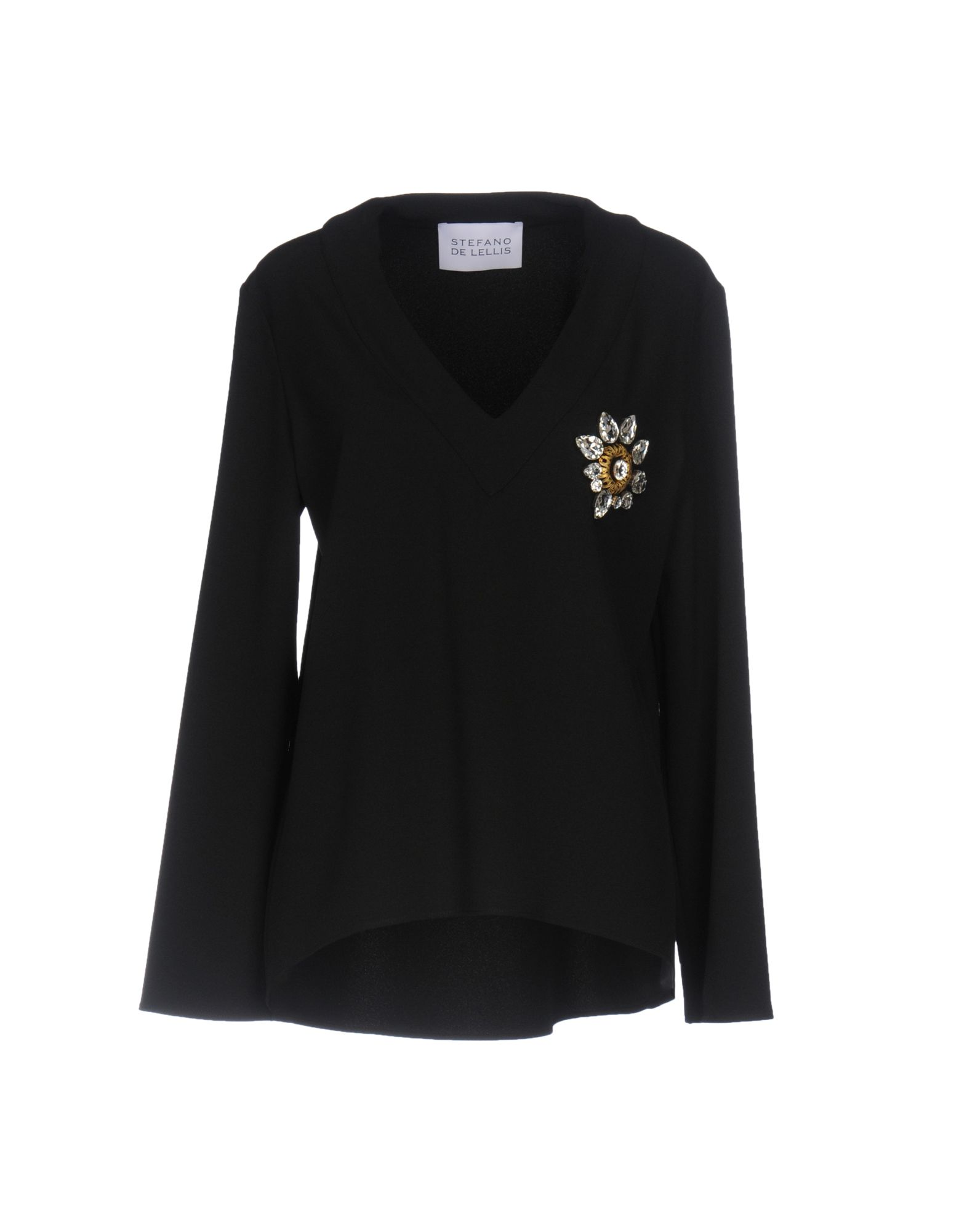 STEFANO DE LELLIS Блузка v de vinster блузка