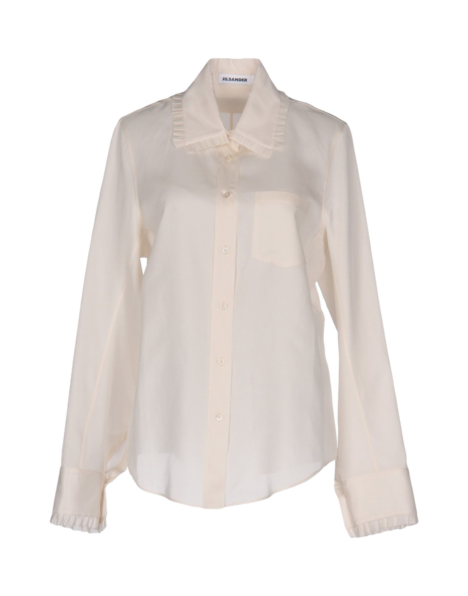 JIL SANDER Damen Hemd Farbe Weiß Größe 6