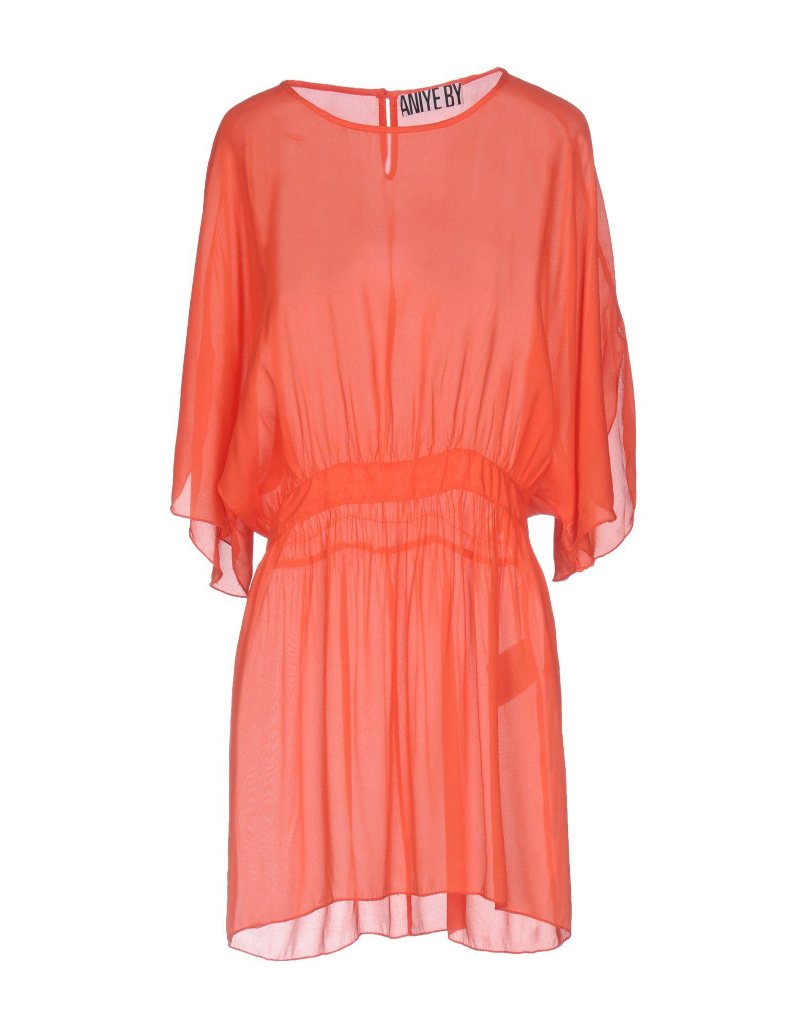 ANIYE BY Damen Bluse Farbe Koralle Größe 4