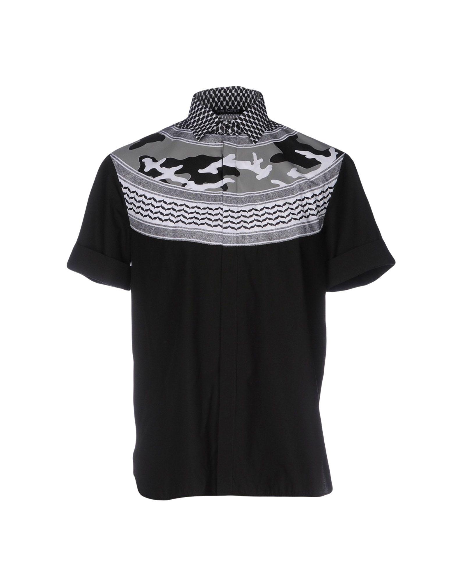 NEIL BARRETT Pубашка футболка мужская neil barrett fa01 2015