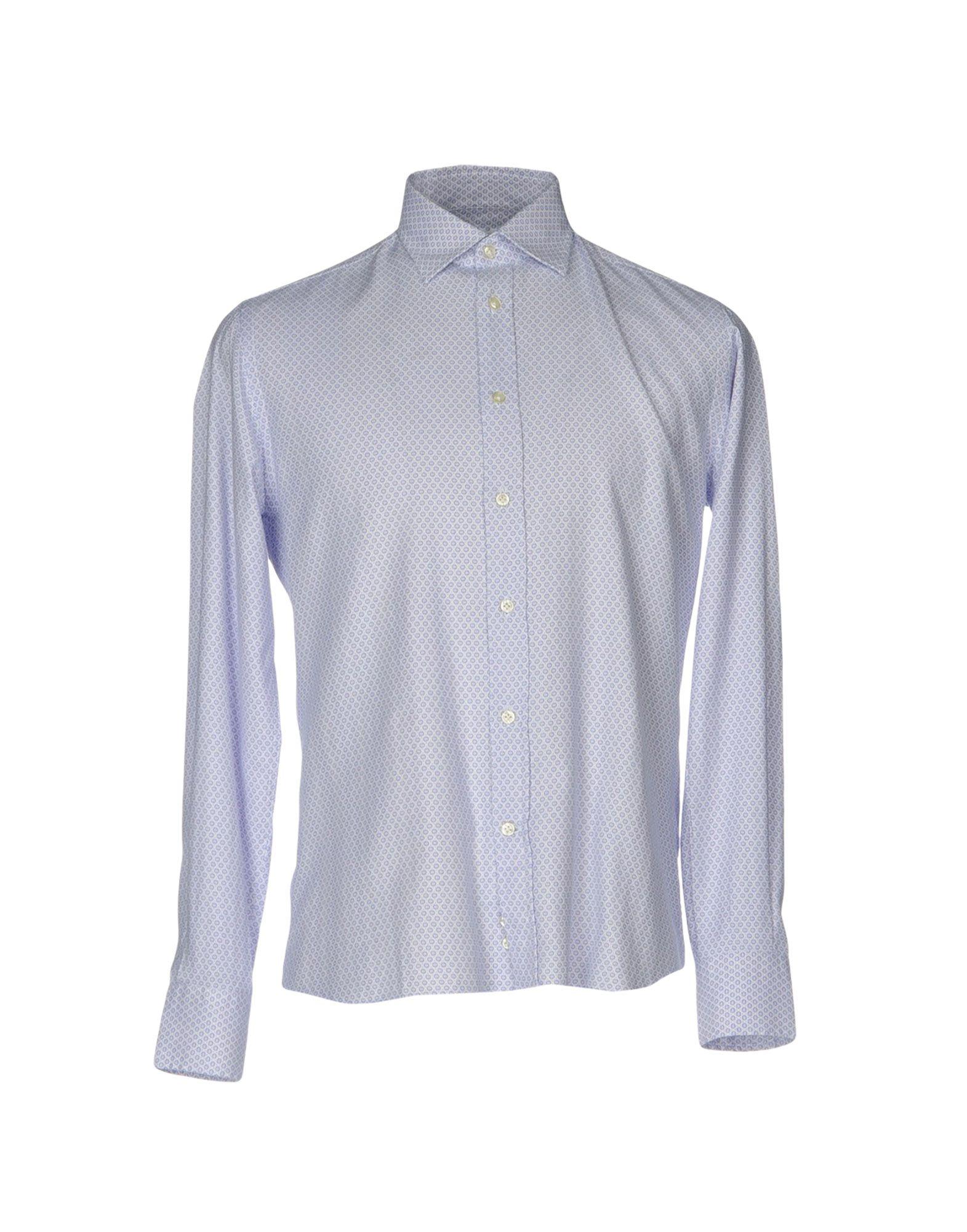 《送料無料》ROMEO BUCCI メンズ シャツ ブルー 38 コットン 100%