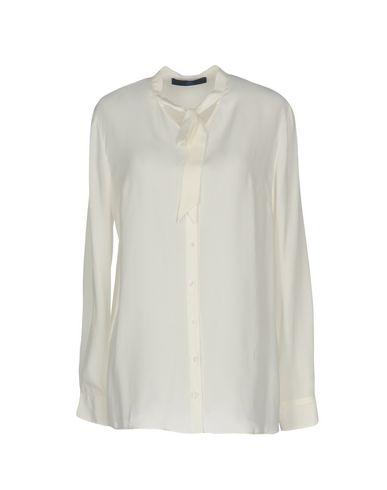 Купить Pубашка от BLUE LES COPAINS белого цвета