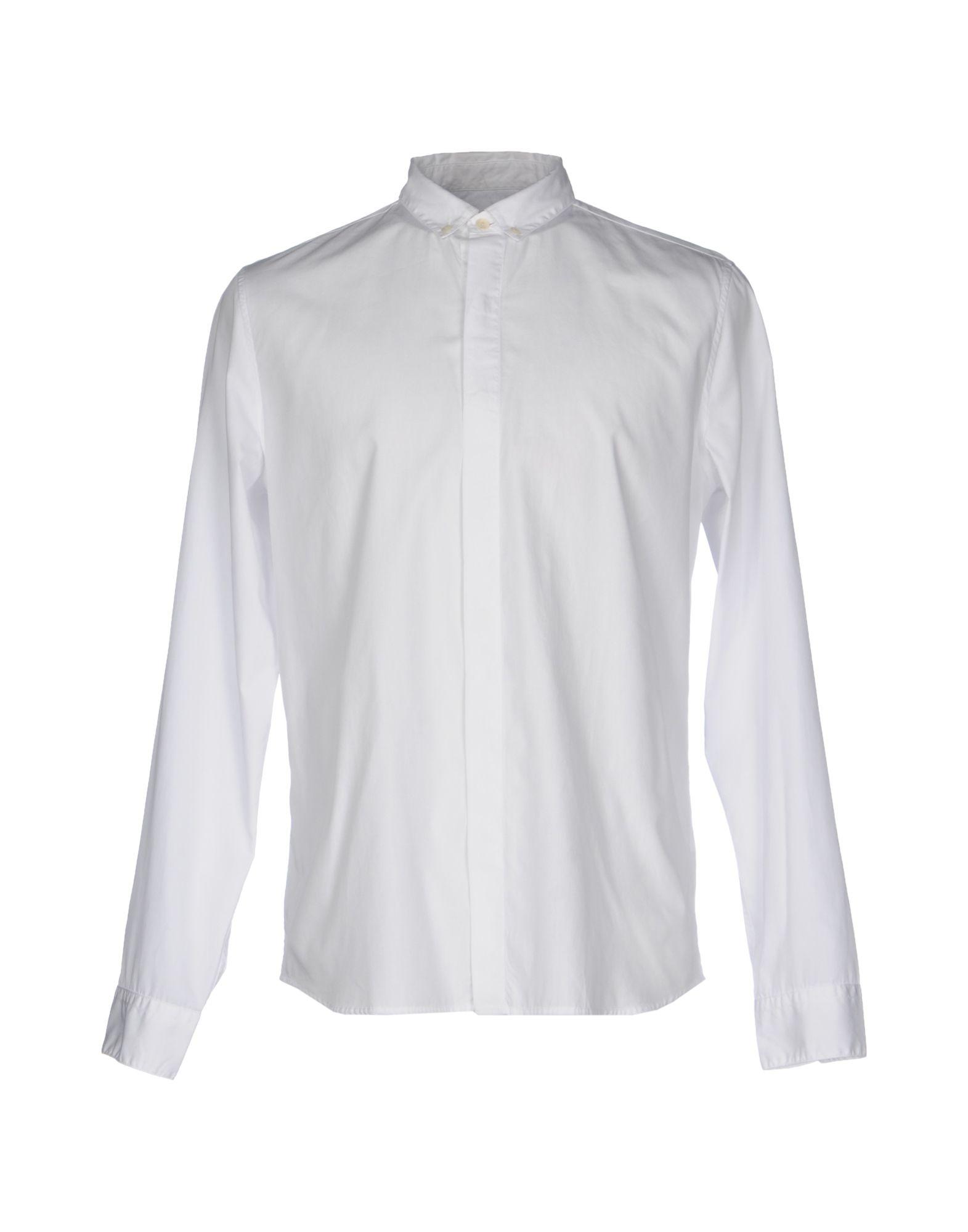 《送料無料》PIERRE BALMAIN メンズ シャツ ホワイト 41 コットン 100%