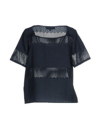 Фото 2 - Женскую блузку ANNA RACHELE JEANS COLLECTION темно-синего цвета