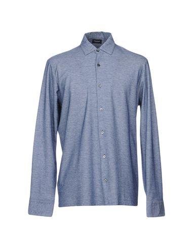 Купить Pубашка от DRUMOHR темно-синего цвета