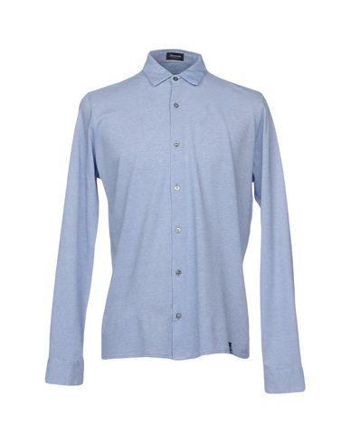 Фото - Pубашка от DRUMOHR небесно-голубого цвета