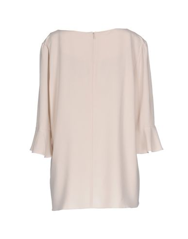 Фото 2 - Женскую блузку  светло-серого цвета